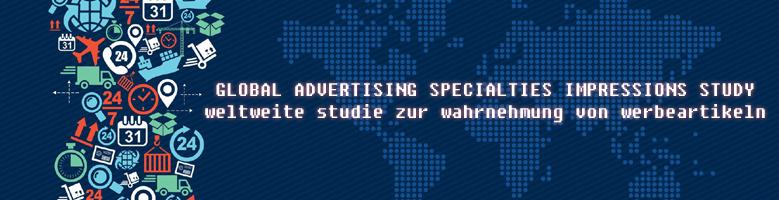 Weltweite Studie zur Wahrnehmnung von Werbeartikeln