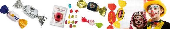 Süßwaren zu Karneval