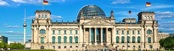 Reichstag in Bundestagswahl – Wahlkampf mit Werbeartikeln