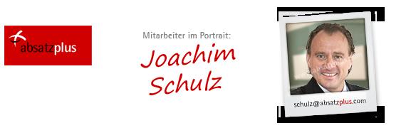 Mitarbeiter stellen sich vor: Joachim Schulz
