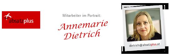 Mitarbeiter stellen sich vor: Annemarie Dietrich