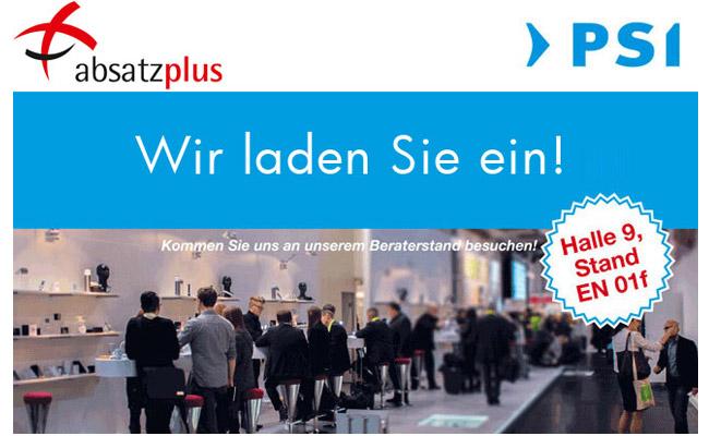 Absatzplus-psi-2017 in Besuchen Sie absatzplus auf der PSI 2017