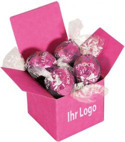 Color Lindor Box Erdbeer als Werbeartikel
