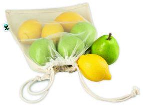 Wiederverwendbare Food Bag Eva Fairtrade als Werbeartikel