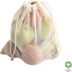 Wiederverwendbare Food Bag Franz Fairtrade als Werbeartikel