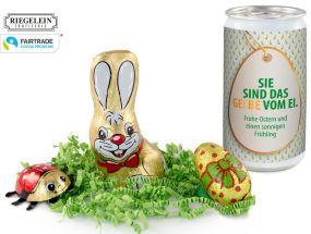 Fairtrade Oster-Überraschung als Werbeartikel
