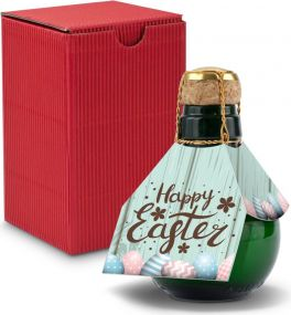 Origineller Sekt im Geschenkkarton, 125 ml - Osterdesigns als Werbeartikel
