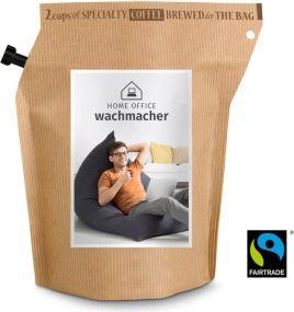 Kaffee Brühbeutel Honduras Home-Office als Werbeartikel