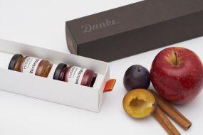 Individualisierbare Dankebox - Winterlicher Fruchtaufstrich