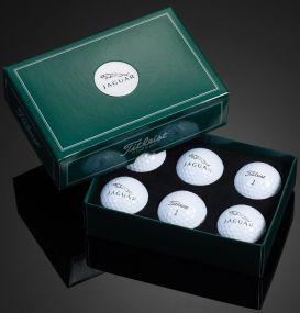 Titleist 6er Golfball Box inkl. Doming als Werbeartikel