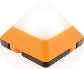 Dreieckige Mini-Laterne als Werbeartikel