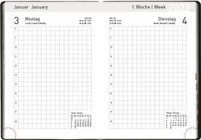 Handwerker-Kalender blackline als Werbeartikel