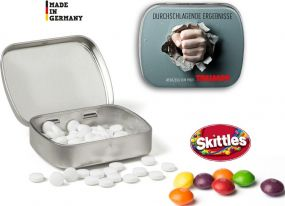 Pfefferminz Mini Nostalgiedose als Werbeartikel