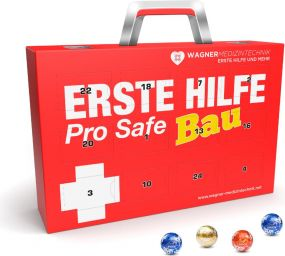 Lindt Lindor Adventskalender Koffer Eco als Werbeartikel