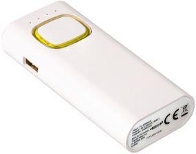 Powerbank mit COB LED Taschenlampe als Werbeartikel