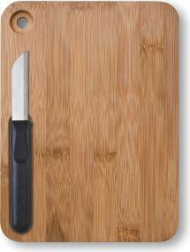 Richartz Schneideset Piccolo cut on wood als Werbeartikel