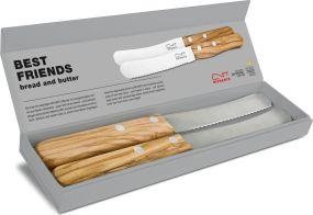 Richartz Küchenmesser BEST FRIENDS bread and butter als Werbeartikel