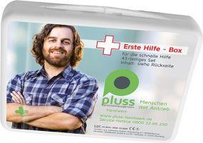 Erste Hilfe Box als Werbeartikel als Werbeartikel