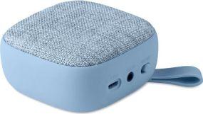 Bluetooth Lautsprecher mit Textilbezug als Werbeartikel