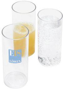 Kunststoff-Longdrinkglas als Werbeartikel