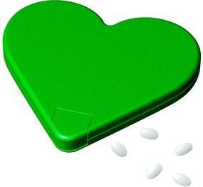 Mint-Spender Herz als Werbeartikel