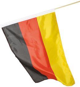 Deutschlandfahne mit Holzstab als Werbeartikel