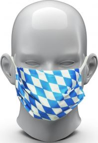 Community-Maske Bavaria als Werbeartikel