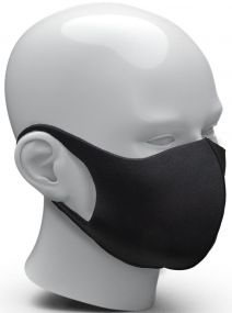 Community-Maske Space als Werbeartikel