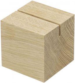 Holzmenükartenhalter Cube als Werbeartikel