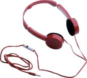 Kopfhörer mit Freisprecheinrichtung Reflects Torbay als Werbeartikel