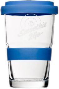 Smoothie 2 go Smoothieglas als Werbeartikel