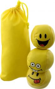 Jonglierbälle Happy als Werbeartikel