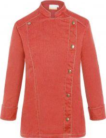 Damenkochjacke Jeans-Style