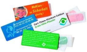 MailCare klein, Pflastermäppchen als Werbeartikel