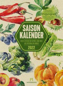 Kalender Saisonkalender 2021 als Werbeartikel
