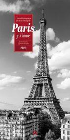 Kalender Paris, je t'aime 2021 als Werbeartikel