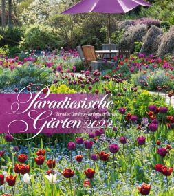 Kalender Paradiesische Gärten 2021 als Werbeartikel