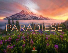 Kalender Geheime Paradiese 2021 als Werbeartikel