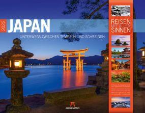 Kalender Japan 2021 als Werbeartikel