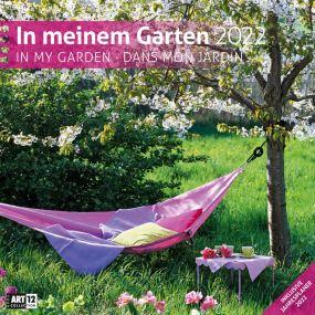 Kalender In meinem Garten 2021 als Werbeartikel