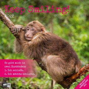 Kalender Keep Smiling! 2021 als Werbeartikel