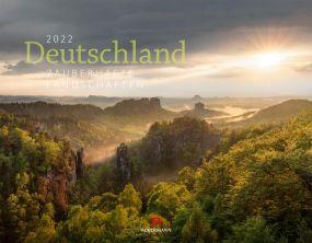 Kalender Deutschland - Landschaften 2021 als Werbeartikel