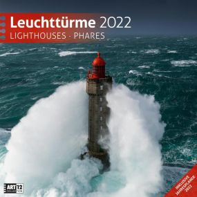 Kalender Leuchttürme 2021 als Werbeartikel