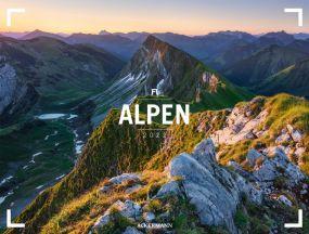 Kalender Alpen - Gallery 2021 als Werbeartikel