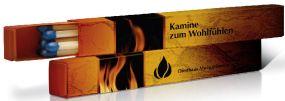Kaminstreichhölzer BX12 als Werbeartikel als Werbeartikel
