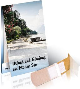 Briefchen mit 2 Pflastern als Werbeartikel als Werbeartikel