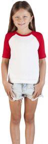 Promodoro Kinder Raglan T-Shirt als Werbeartikel