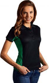 Promodoro Damen Funktion Poloshirt Contrast als Werbeartikel