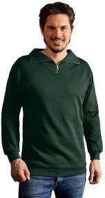 Promodoro Herren Sweatshirt Troyer als Werbeartikel