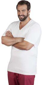 Promodoro Herren T-Shirt Slim Fit mit V-Ausschnitt als Werbeartikel
